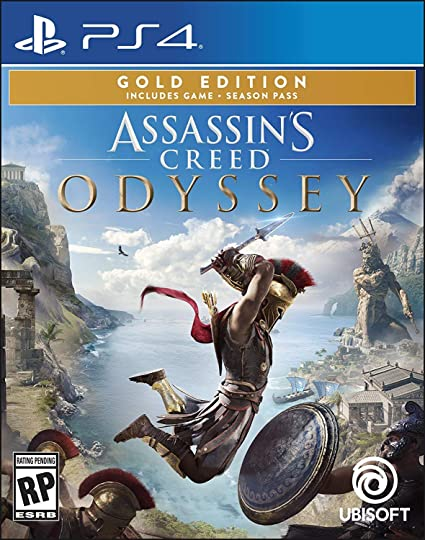 Amazon Com Assassin S Creed Odyssey Playstation 4 Gold