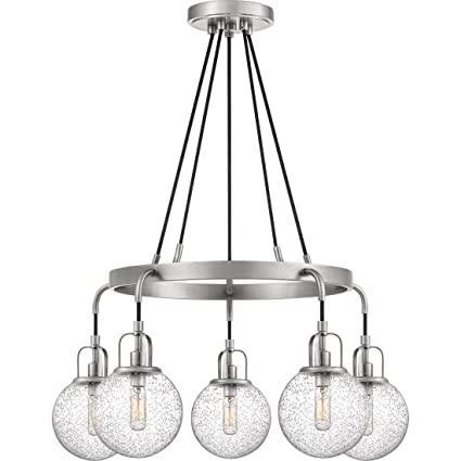 Amazon.com: Quoizel HYR5005AN - Lámpara de araña híbrida (5 ...