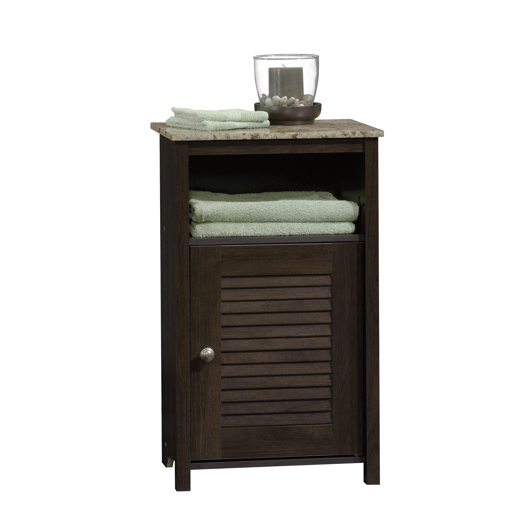 Sauder 414031 Peppercorn Floor Cabinet, L: 17.32'' x W: 11.50'' x H: 28.78'', Cinnamon Cherry finish by Sauder