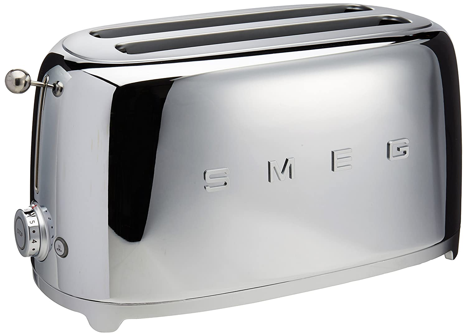 Smeg 4-Slice Toaster-Chrome