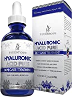 Hyaluronic Acid Serum for Face - 100% Pure Medical Quality Clinical Strength Formula - Anti Aging Formula (2 oz)