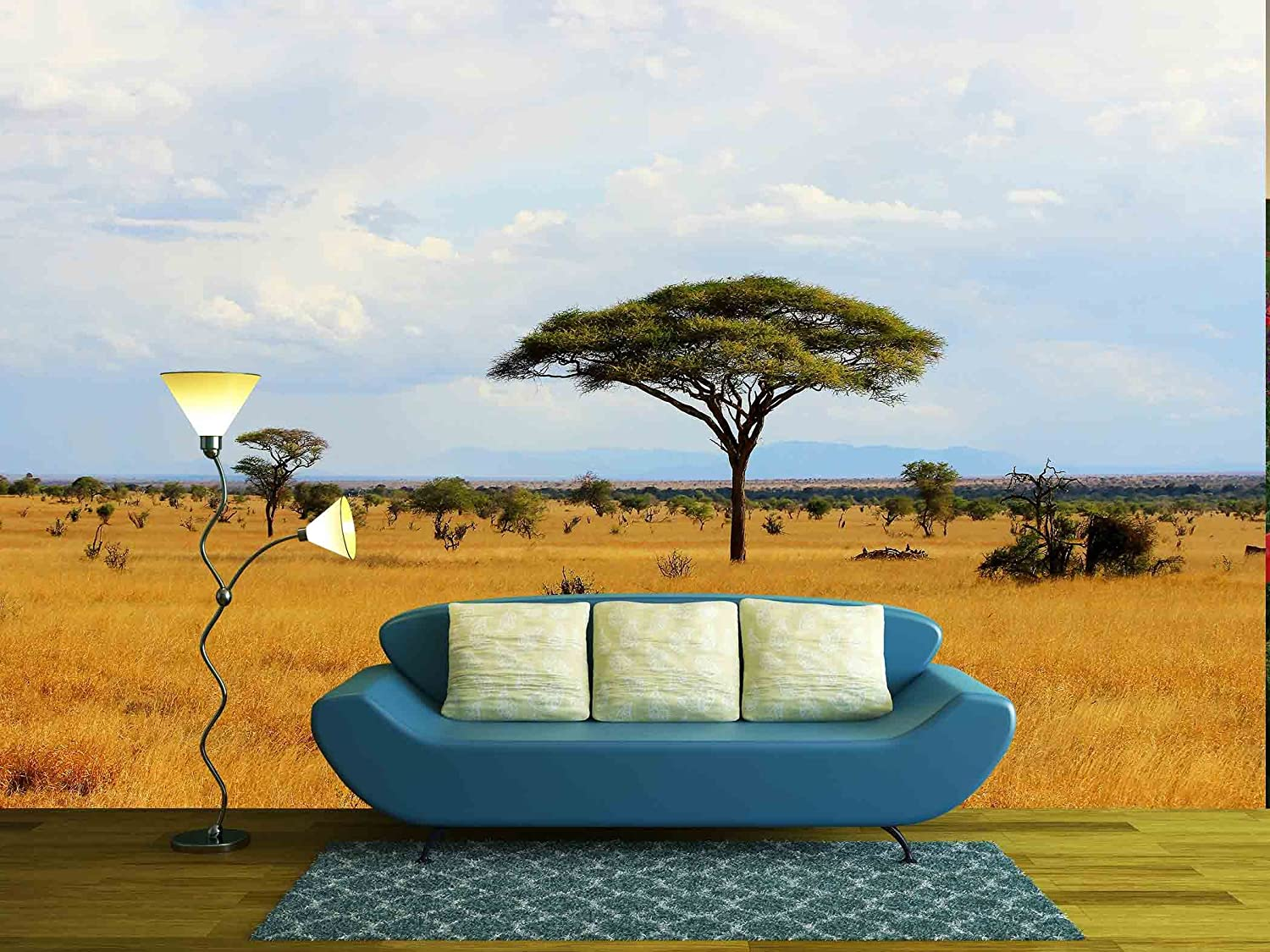 wall26 com art prints framed art canvas prints greeting wall26 african savanna landscape in kenya removable wall mural self adhesive large wallpaper 66x96 inches