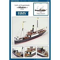 HMV - Hamburger Modellbaubogen Verlag - Maqueta de barco
