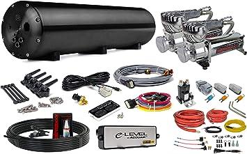 Black airmaxxx 580 Air Compressors /& AVS Dual Compressor Wiring Kit