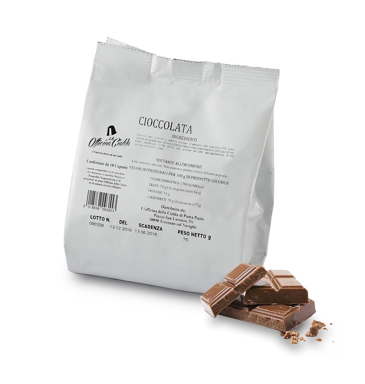 ODC MADE IN ITALY Kit de 100 CÁPSULAS DE Sabor CHOCOLATE ...