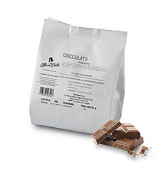 ODC MADE IN ITALY Kit de 100 CÁPSULAS DE Sabor CHOCOLATE Compatible con las Máquinas de