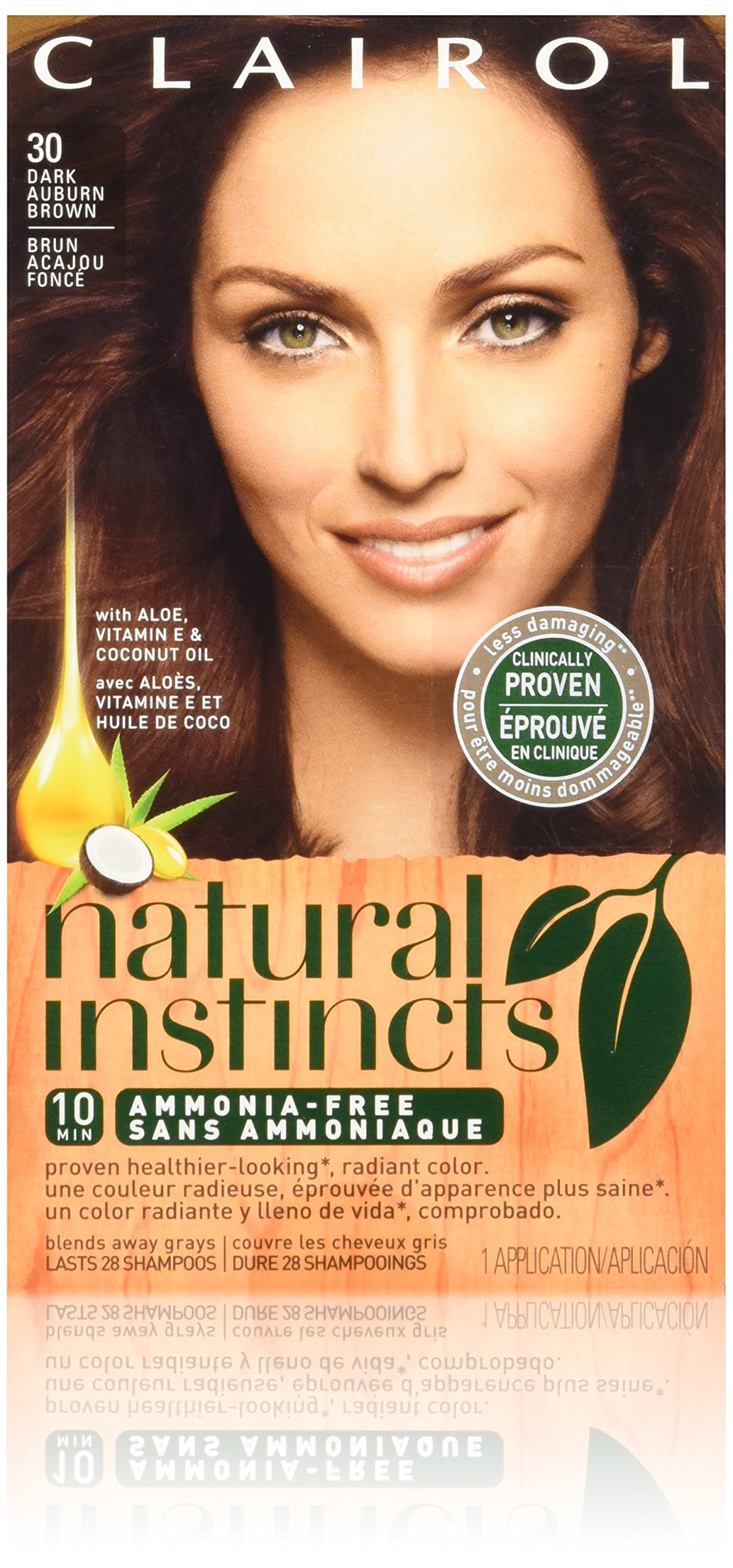 Amazon Clairol Natural Instincts Hair Color 30 Rosewood Dark