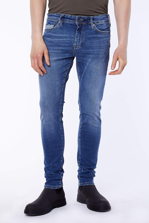 Gas Sax Zip PK//co wl46 Jeans Skinny da Uomo Elasticizzati