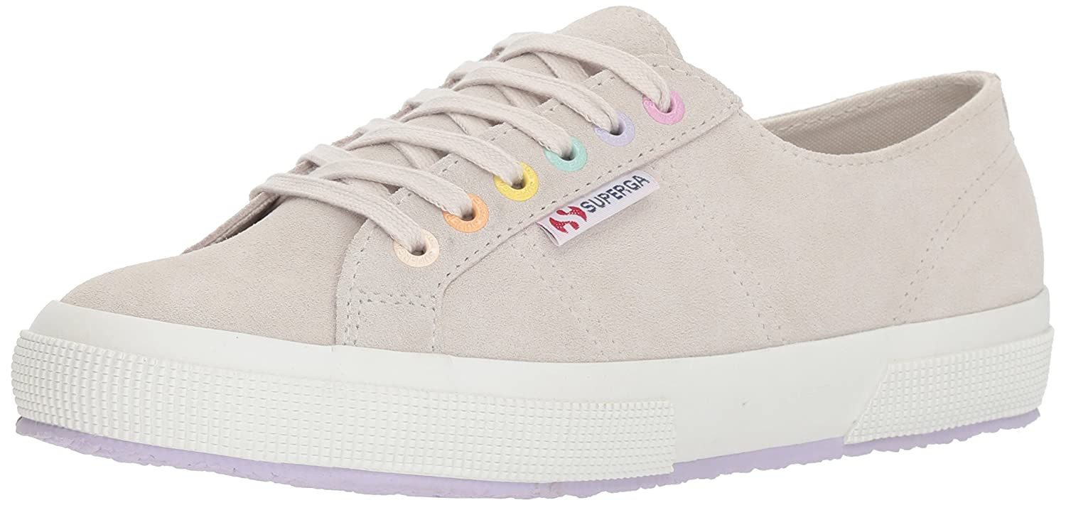 Superga Women's 2790 Suecotlinw Sneaker B07BT7JQJ5 37 M EU (6.5 US)|Grey/Multi