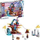 LEGO Disney Frozen II Enchanted Treehouse 41164 Toy Treehouse Building Kit featuring Anna Mini Doll and Bunny Figure for…