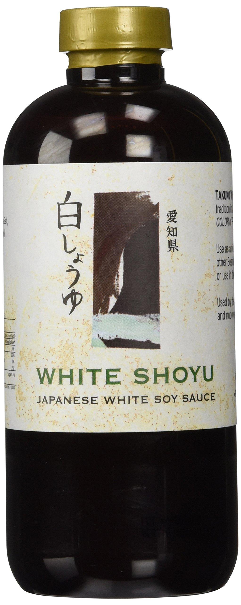 Takuko White Shoyu Japanese White Soy Sauce , 12 oz