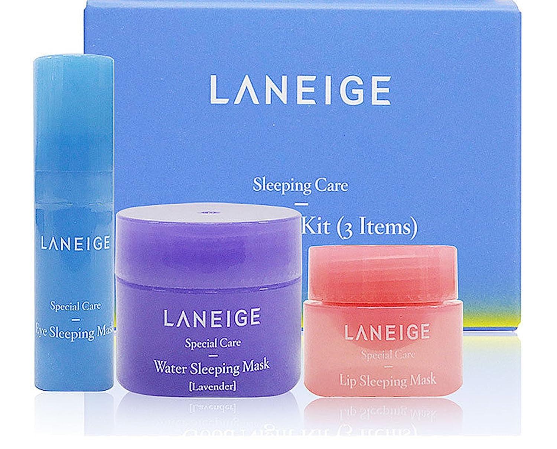 LANEIGE Sleeping Care Gute Nacht Kit 3 Artikel Wasser / Auge / Lip Sleeping 3 Stck