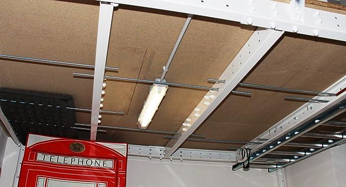 altillos Hierro (ajustable de 3 a 8 m²), altillos para garaje ...