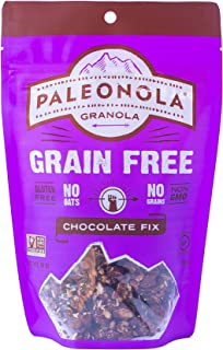 product image for Paleonola – Grain Free Granola Chocolate Fix Flavor – Non-GMO, Grain, Soy, Gluten, Dairy Free – Low Carb Protein Snack For A Healthy Breakfast