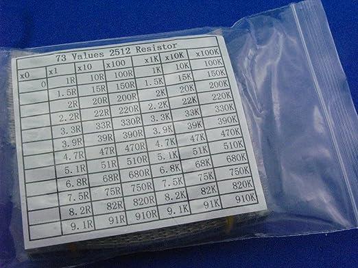 0603 SMD//SMT Resistors 1//10W Chip Resistor ±1/% Full Range Of Values(22KΩ-820Ω)