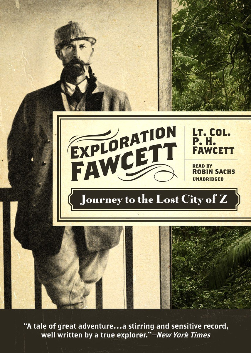 z audiobook lost the city of