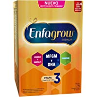 Enfagrow Premium Etapa 3 Leche de Crecimiento en Polvo para Niños mayores de 12 Meses, 1.1Kg