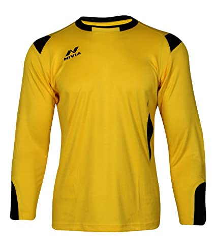 d030bd10f Buy Nivia Spider Goalkeeper Jersey Online at Low Prices in India - Amazon.in