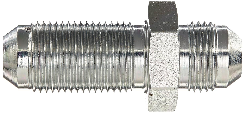 Eaton Weatherhead C5325X8 Carbon Steel SAE 37-Degree Flare-Twin Fitting Bulkhead Union JIC 1//2 JIC Male