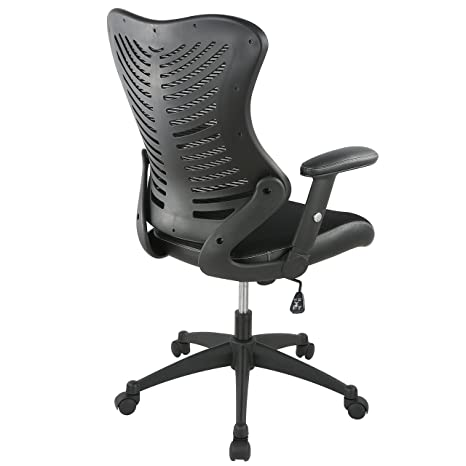 Amazon.com: POLY & BARK EM-329-BLK Correna Office Chair in Mesh, Black: Home & Kitchen