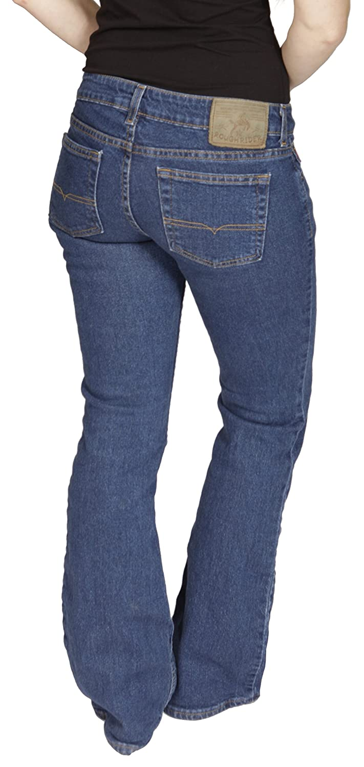 Roughrider Ladies Mid Rise Riding Bootcut Stretch Jean