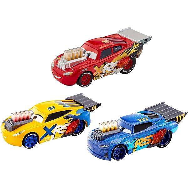 1:55 Scale Nitroade Disney//Pixar/'s Cars Movie Xtreme Racing Series Mud Racing Die-Casts
