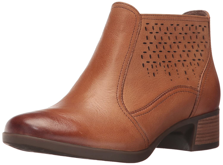 Dansko Women's Liberty Ankle Bootie B01N5KASGR 40 EU/9.5-10 M US|Saddle Burnished Nappa