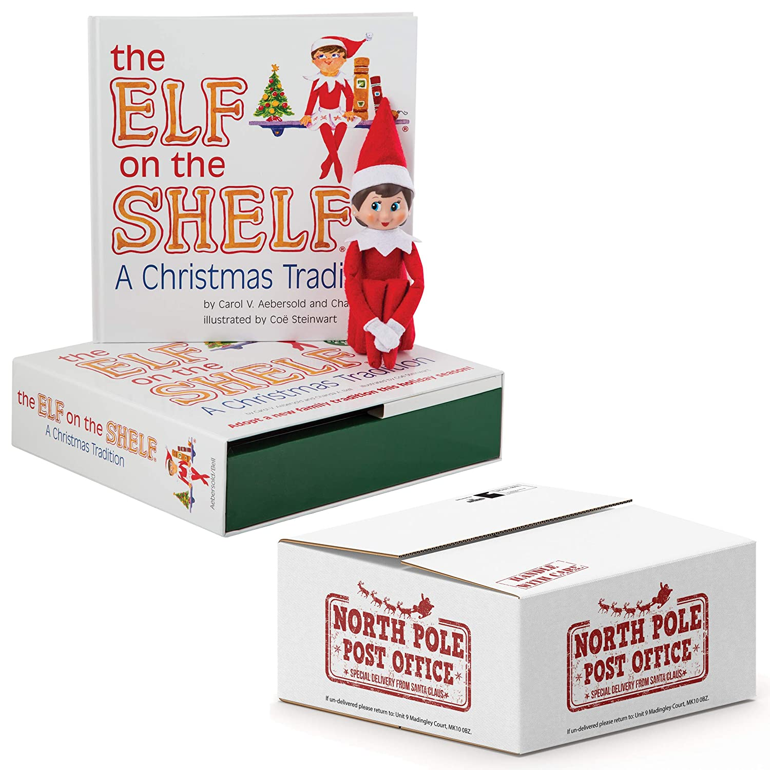 The Elf on the Shelf® Christmas Tradition Blue-Eyed Boy Scout Elf ...