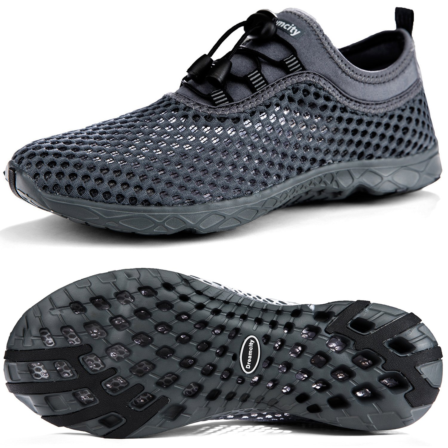 Dreamcity Men's Water Shoes Athletic Sport Lightweight Walking Shoes by Dreamcity