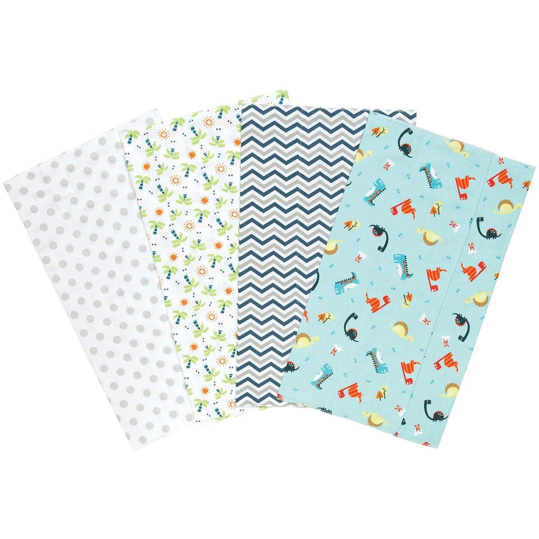 Baby Dinosaurs Burp Cloth or Bib SINGLES