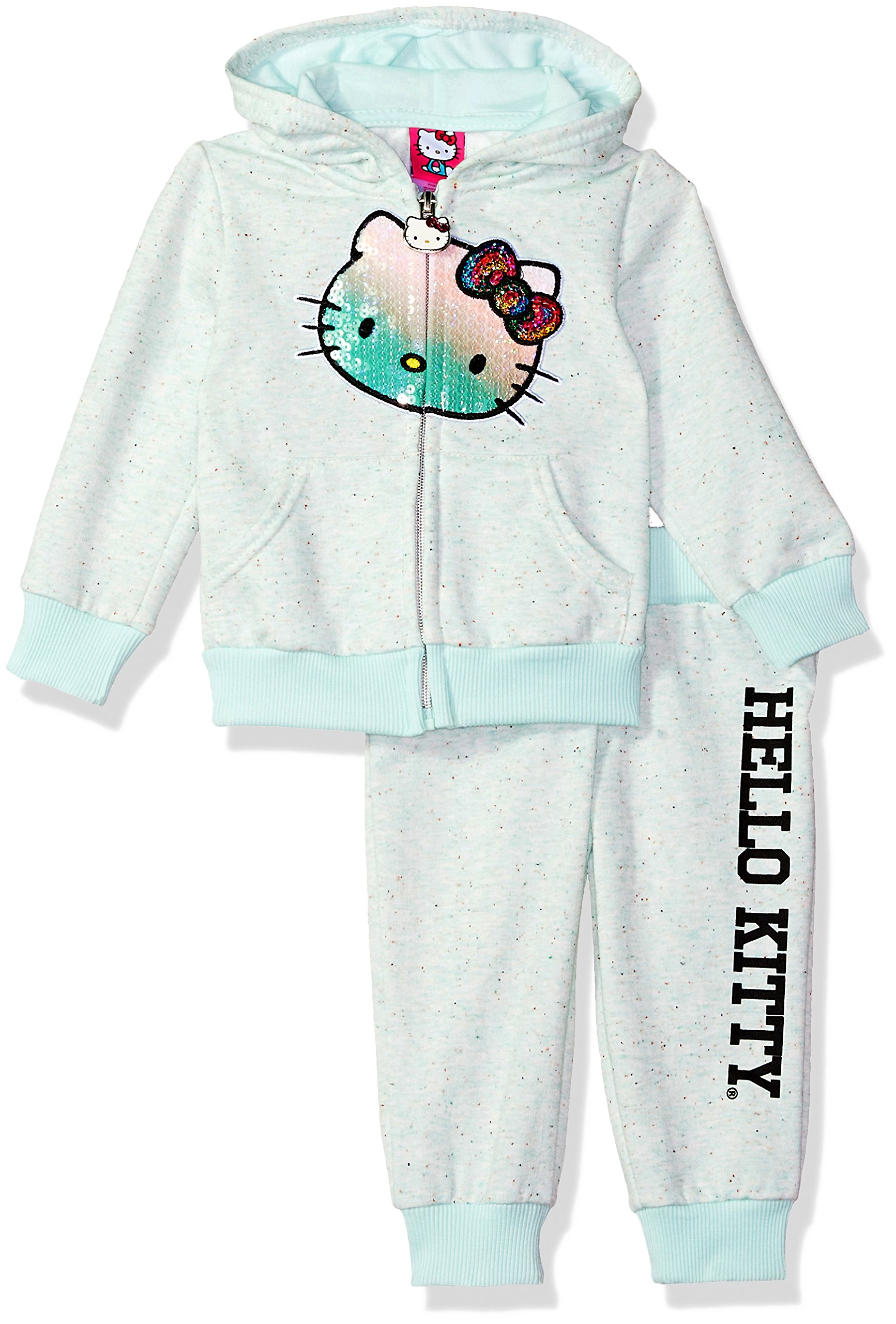 Hello Kitty Baby Girls' 2 Piece Embellished Active