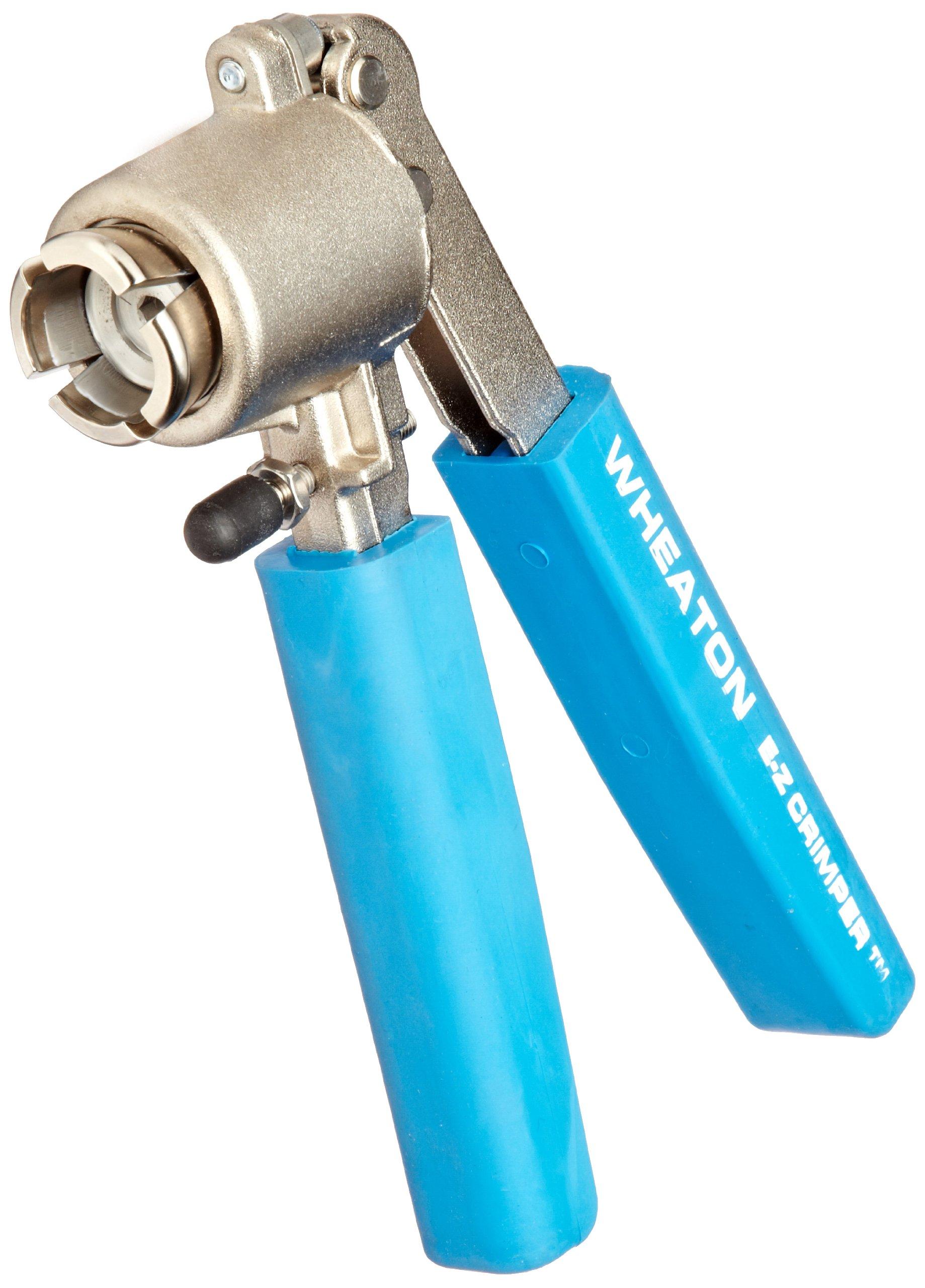 Wheaton W225302 E-Z Crimper Attaches 13mm Aluminum Seals To Serum Finish Bottles/Vials
