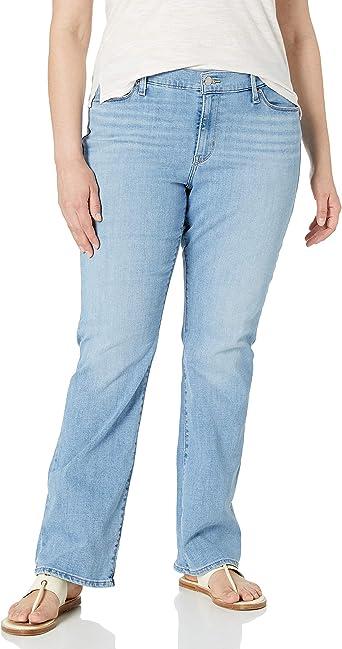 Amazon Com Levi S Pantalones De Mezclilla Clasicos De Corte Tipo Bota Para Mujer Clothing