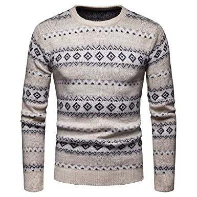 DressUMen O,Neck Autumn Winter Knitwear Long Sleeve Pullover