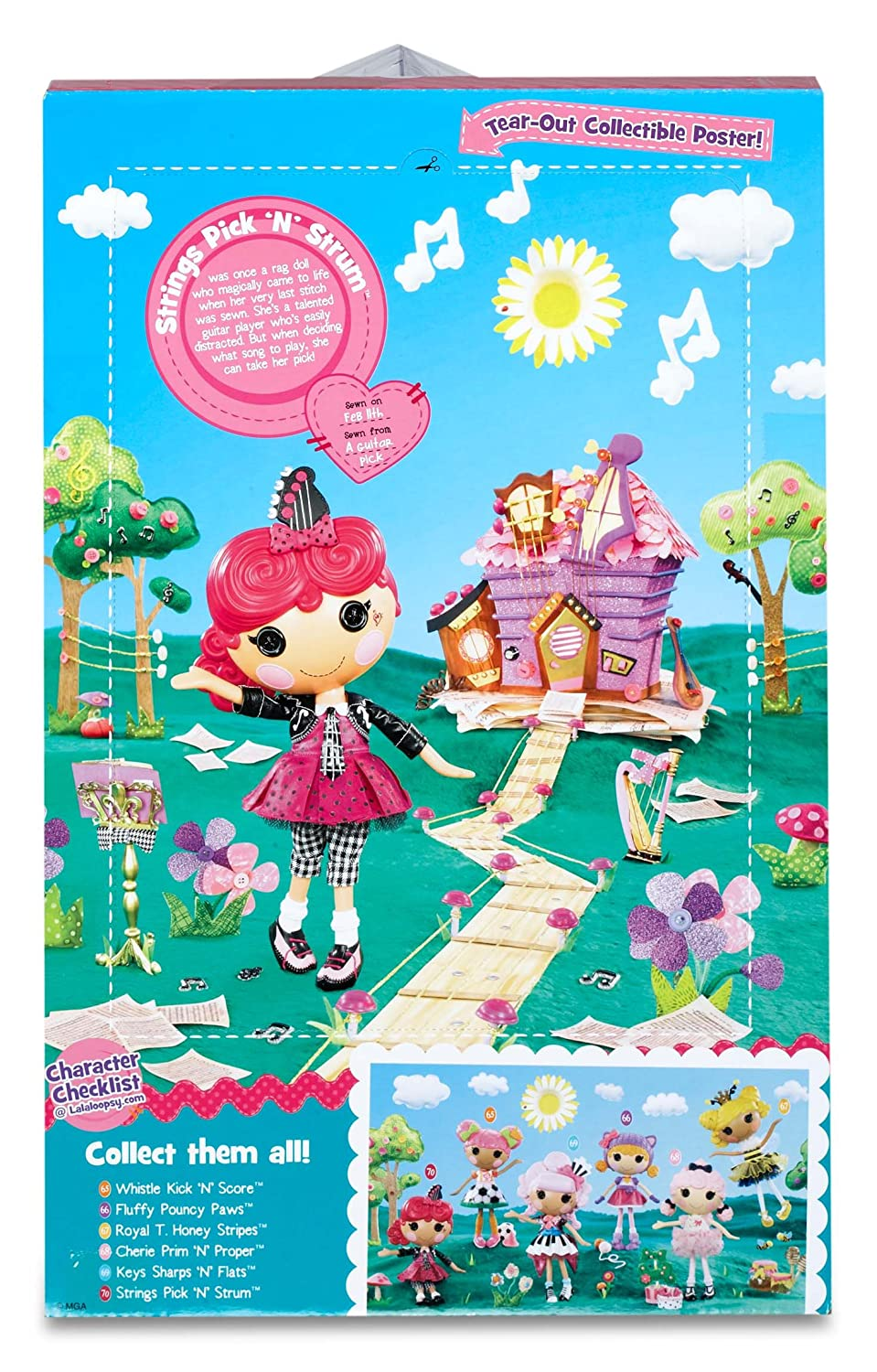 Amazon.com: Lalaloopsy Doll- Strings Pick \'N\' Strum: Toys & Games