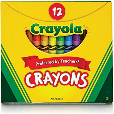 Crayola Tuck Box 12 Crayons: Office Products