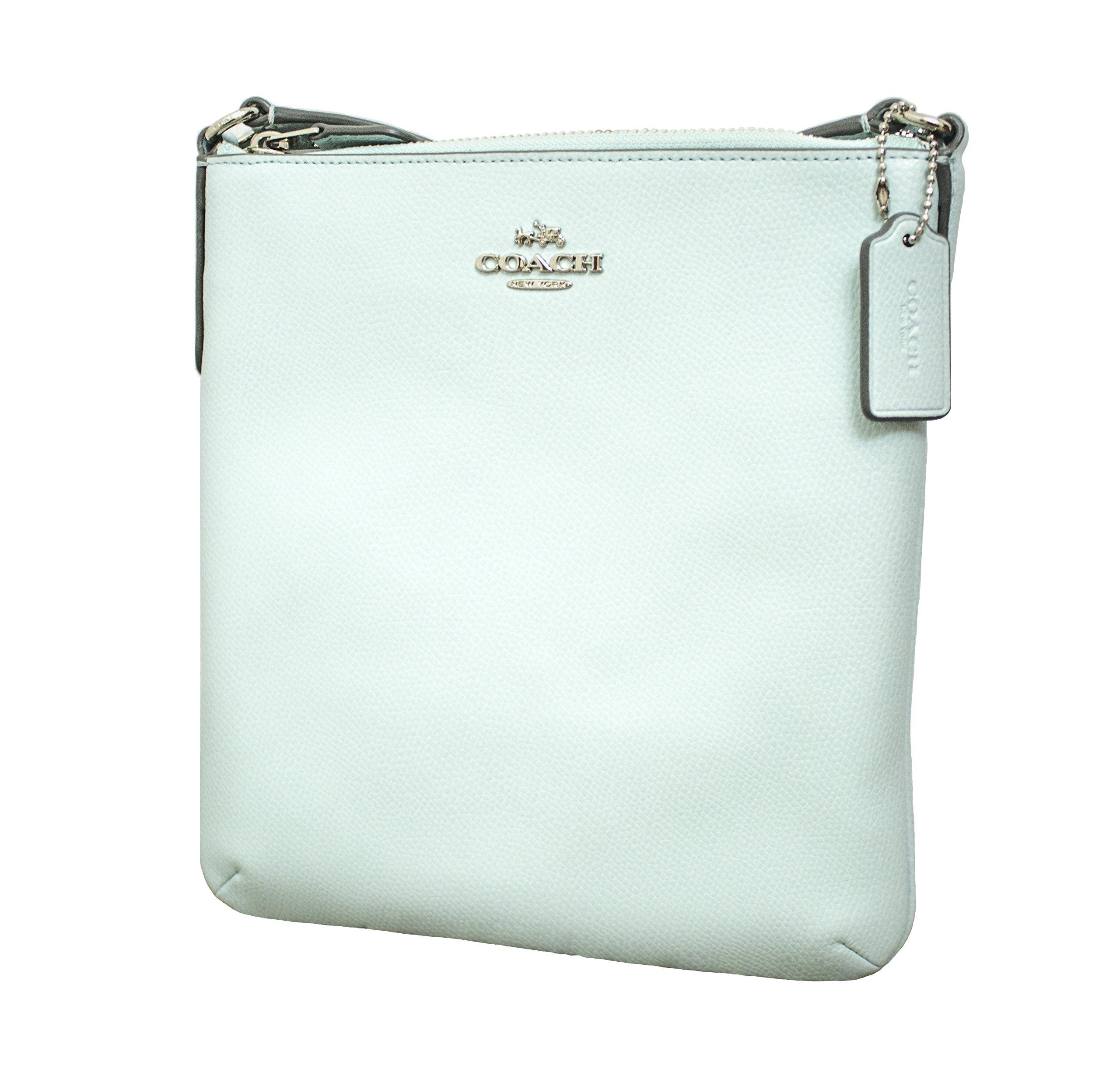 Coach Crossgrain North South Crossbody Handbag Seaglass by Coach