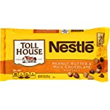 NESTLE Toll House Morsels, Peanut Butter & Milk Chocolate Bag, 11 oz