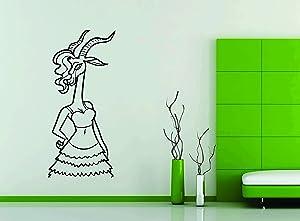 Perfect Print Wall Car Vinyl Decal Sticker Mural Gazelle Shakira Singer Zootopia Cartoon Kids Toy