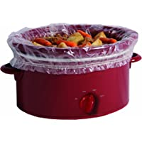 PanSaver Slow Cooker Liners with a Sure Fit Band, 4 Count, fits 3 qt to 6.5 qt