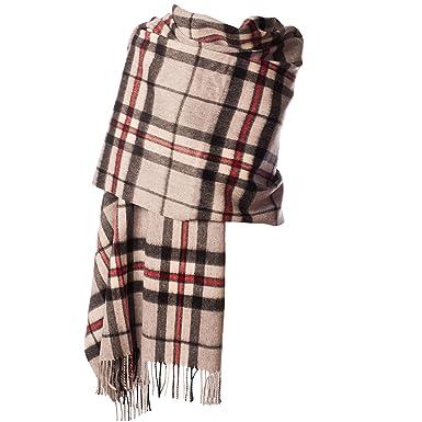 6c364712b000 Edinburgh 100% laine d agneau étole Scottish Tartan Multicolore  Amazon.fr   Vêtements et accessoires