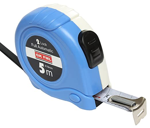Freemans Measures 2 Lock 5Meter Automatic Pocket Measuring Tape