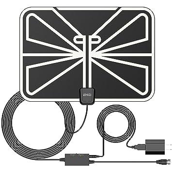 lehxzj antena de TV, HDTV antenas, antenas de alta definición digital amplificada de interior