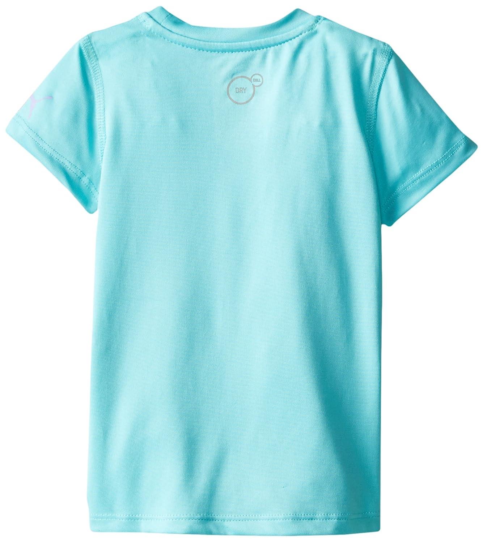 PUMA Girls Short Sleeve Core Tee Shirt