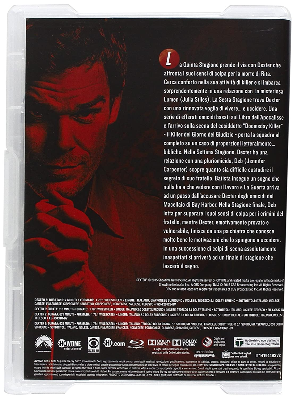 Dexter - Stagione 01-08 [Blu-ray] [IT Import]: Amazon.de: james ...
