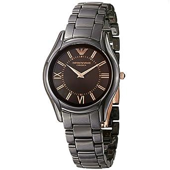 c9ae9199985b Armani Damen-Keramikuhr AR1445  Amazon.de  Uhren