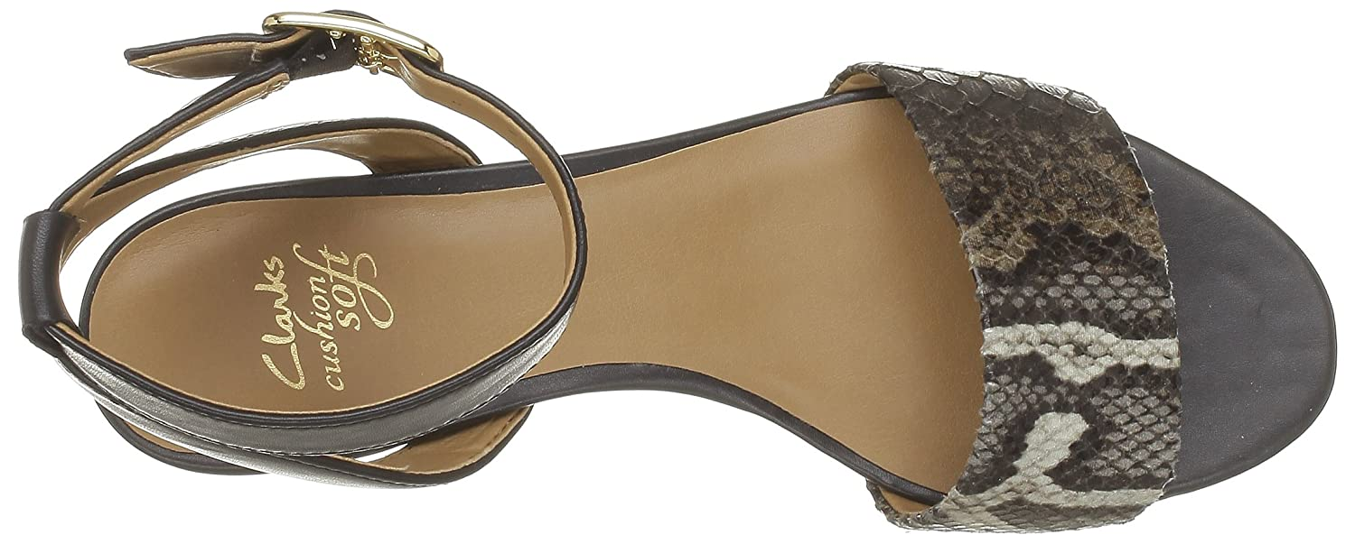 1b595bcb1 Clarks Sharna Balcony Sandals Woman Size  3  Amazon.co.uk  Shoes   Bags