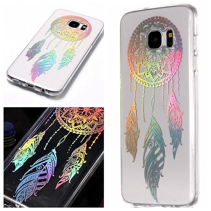 Funda Samsung Galaxy S7 Edge Silicona Transparente con ...