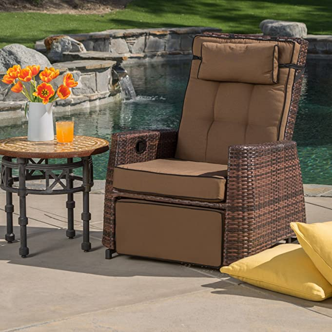 Amazon.com  Best Selling PE Wicker Outdoor Recliner  Outdoor And Patio Furniture Sets  Garden u0026 Outdoor & Amazon.com : Best Selling PE Wicker Outdoor Recliner : Outdoor And ... islam-shia.org