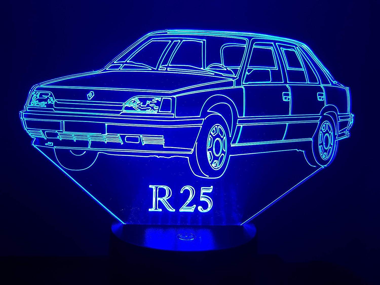 RENAULT R25, lampe 3D à LED